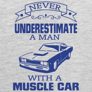 NEVER UNDERESTIMATE A MAN WITH A MUSCLE CAR! Sportswear - Men's Premium Tank