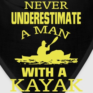 NEVER UNDERESTIMATE A MAN WITH A KAYAK! Caps - Bandana