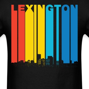 Vintage Lexington Kentucky Skyline T-Shirt - Men's T-Shirt