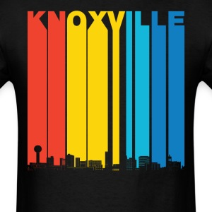 Vintage Knoxville Tennessee Skyline T-Shirt - Men's T-Shirt