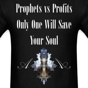 Prophets vs Profits M2 Mens T-Shirt - Men's T-Shirt