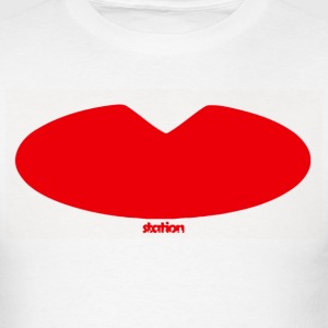 lips - men's t-shirt - Men's T-Shirt