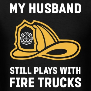 Firefighter Wife Shirt - Men's T-Shirt