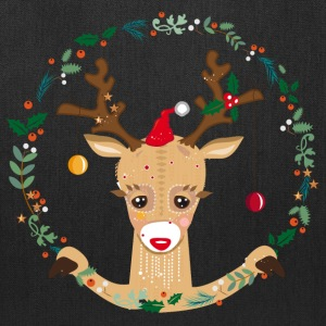 A reindeer in the Christmas time Bags & backpacks - Tote Bag
