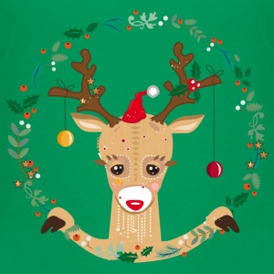 A reindeer in the Christmas time Baby & Toddler Shirts - Toddler Premium T-Shirt