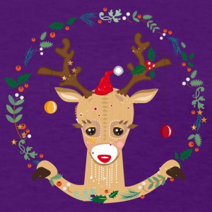 A reindeer in the Christmas time T-Shirts - Women's T-Shirt