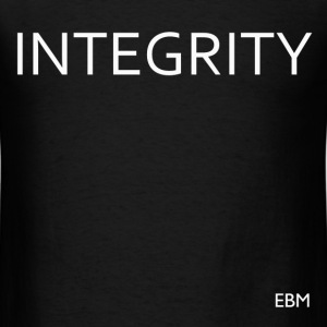 Black Males Integrity T-Shirts - Men's T-Shirt