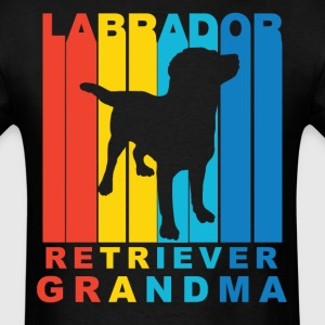 Labrador Retriever Grandma Dog Grandparent Shirt - Men's T-Shirt