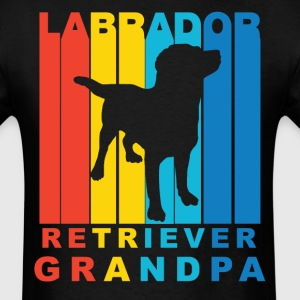 Labrador Retriever Grandpa Dog Grandparent Shirt - Men's T-Shirt