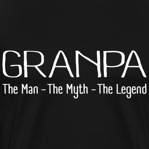 Grandpa The Legend T-Shirts - Men's Premium T-Shirt