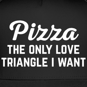 Pizza Love  Funny Quote Sportswear - Trucker Cap