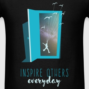 Inspire others everyday - Men's T-Shirt