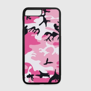 Pink Camo Camouflage - iPhone 7 Plus Rubber Case