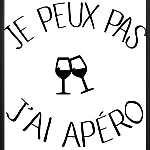 Je peux pas j'ai Apéro Phone & Tablet Cases - iPhone 7 Plus Rubber Case