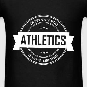 Athletics. International indoor meeting - Men's T-Shirt
