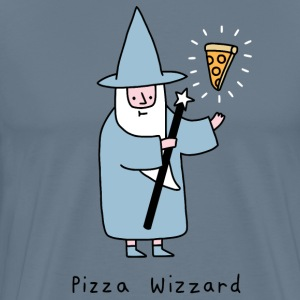 pizza wizard - Men's Premium T-Shirt