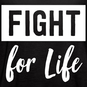 Fight for life Tanks - Women's Flowy Tank Top by Bella