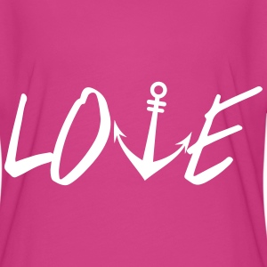 Anchor Love T-Shirts - Women's Flowy T-Shirt
