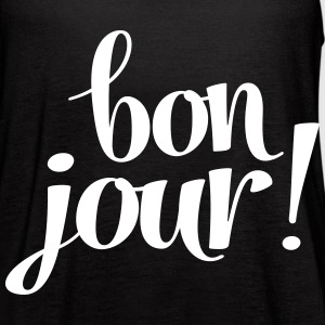 Bon Jour! Tanks - Women's Flowy Tank Top by Bella