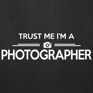 photography: trust me photographer Bags & backpacks - Tote Bag