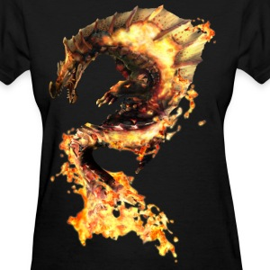 flames - Women's T-Shirt