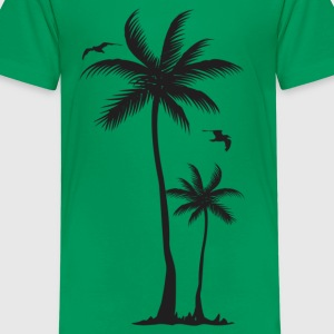 coconut tree - Kids' Premium T-Shirt