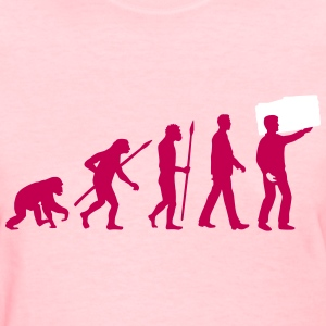 evolution_of_man_furniture_mover_a_2c T-Shirts - Women's T-Shirt