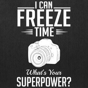 photography: can freeze time whats your superpower Bags & backpacks - Tote Bag