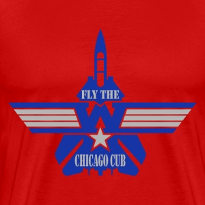 Play Off - fly the W - Men's Premium T-Shirt