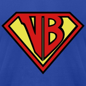 VB Hero Man - Men's T-Shirt by American Apparel