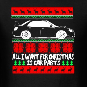 Car Parts Christmas Shirt - Men's T-Shirt