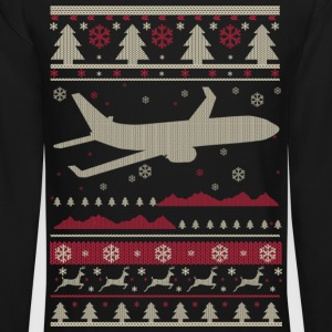 Pilot Ugly Christmas Long Sleeve Shirts - Crewneck Sweatshirt