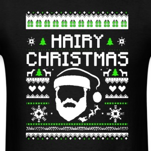 Hairy Christmas Shirts - Men's T-Shirt