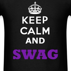 keep calm And Swag - Men's T-Shirt