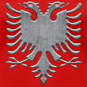 Albanian Iron Eagle - Women's Premium T-Shirt