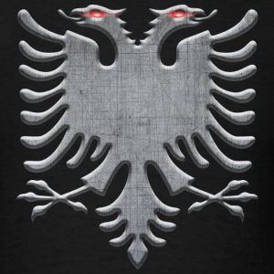 Albanian Iron Eagle - Men's T-Shirt