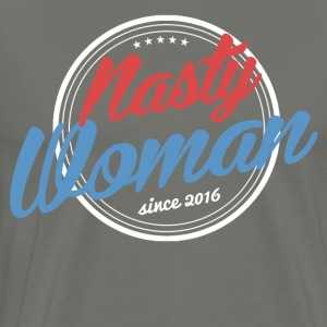 Nasty Woman since 2016 Shirt US president Hillary - Men's Premium T-Shirt