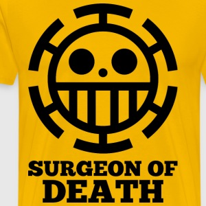 surgeon of death yellow shirt - Men's Premium T-Shirt