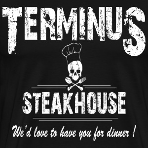 terminus steak house black shirt - Men's Premium T-Shirt