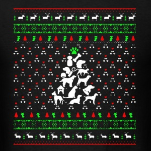 Vet Tech Christmas Tree Shirt - Men's T-Shirt