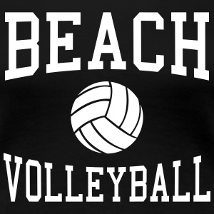 Beach Volleyball T-Shirts - Women's Premium T-Shirt