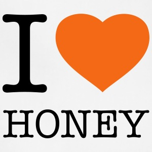 I LOVE HONEY - Adjustable Apron
