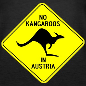NO KANGAROOS IN AUSTRIA - Women's Premium Tank Top