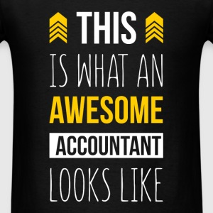 This is what an awesome accountant looks like - Men's T-Shirt