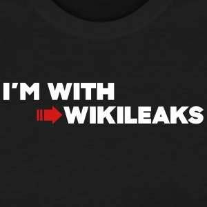 I'm with WikiLeaks T-Shirts - Women's T-Shirt