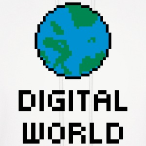 Digital World Hoodies - Men's Hoodie