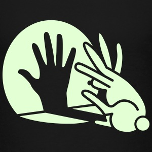 Shadow hand rabbit Glow in the dark Baby & Toddler Shirts - Toddler Premium T-Shirt