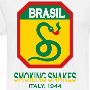 Smoking Snakes - WW2 FEB - Men's Premium T-Shirt