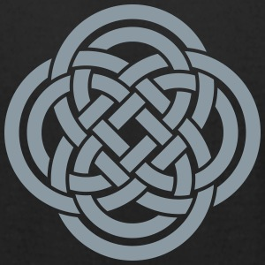 Celtic double loops T-Shirts - Men's T-Shirt by American Apparel