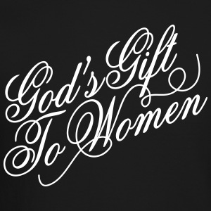 God's gift to women Long Sleeve Shirts - Crewneck Sweatshirt